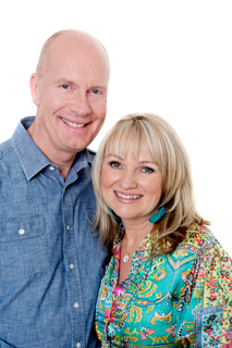 Rob and Christie Buckingham. Christie was Myuran Sukumaran's spiritual director, and was with him until the end of his life.