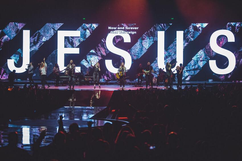 Image: Hillsong Conference 2016.