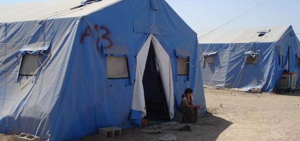 Refugee camp in Iraq