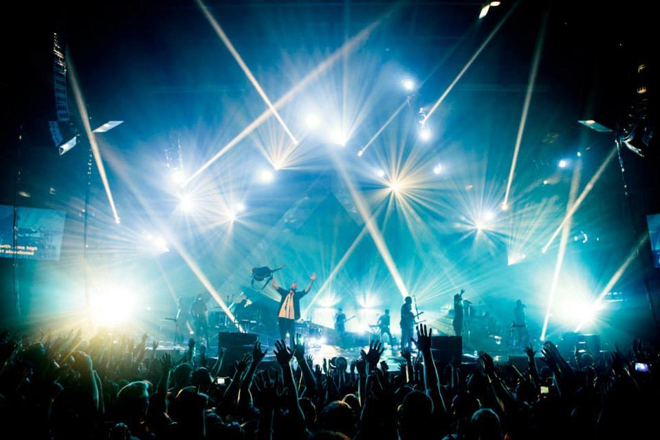 """Hillsong UNITED perform. """"Can a movie be a worship experience?"""""""