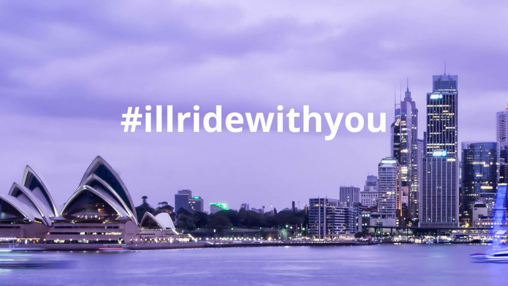 Hashtag #illridewithyou went viral during the week following the Sydney siege