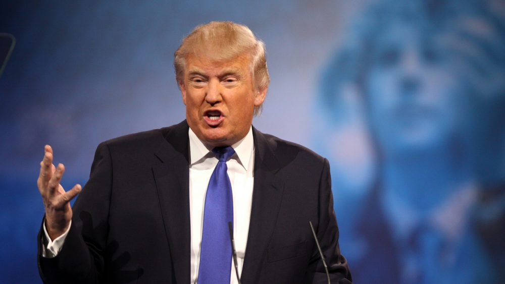 Donald Trump speaks at the 2013 Conservative Political Action Conference in Maryland
