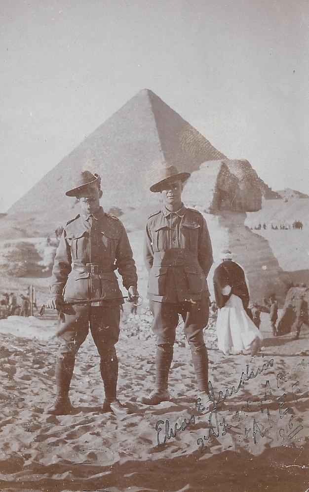 Elvas Jenkins in Egypt