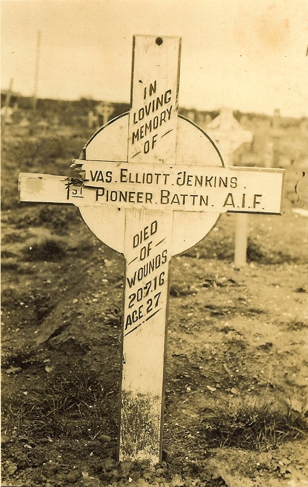 Elvas was the first Australian to die in the Battle of the Somme.