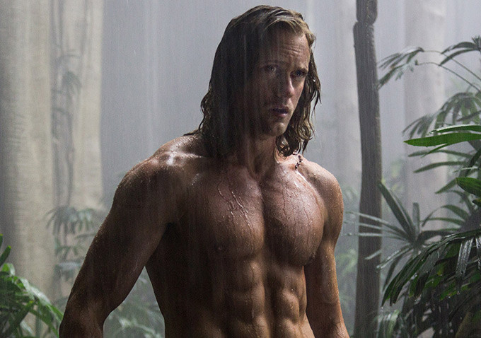 Alexander Skarsgård as Tarzan in the new 'The Legend of Tarzan'