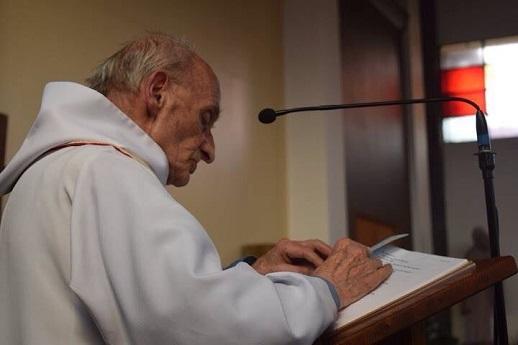Rev. Jacques Hamel, murdered on July 26, 2016 in St. Etienne du Rouvray, France.