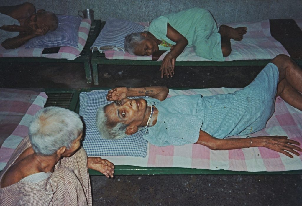 Mother Teresa's home for the dying in Calcutta, India