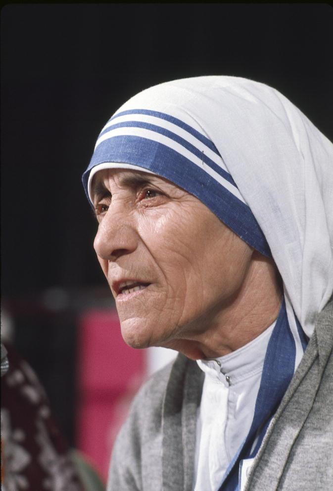 Mother Teresa, 1975.