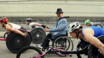 Tony Dee in Channel 4 UK paralympics ad