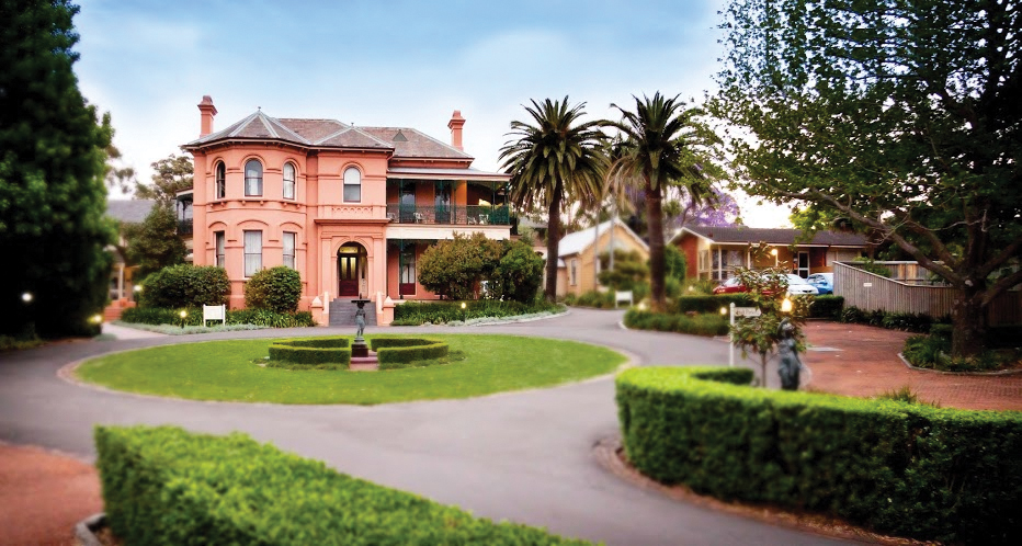 Ooma, a grand house in Sydney's inner west, is today at the centre of SMBC.