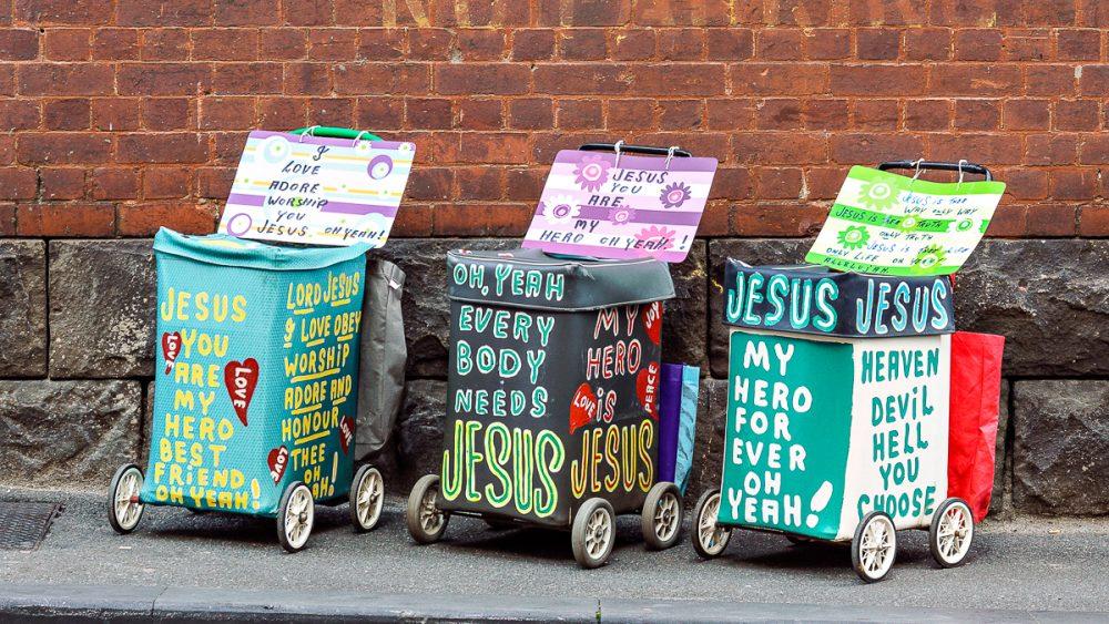 Jesus trolleys c. 2005–2010