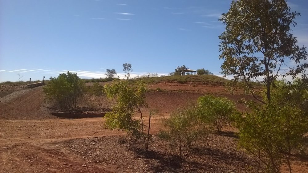 A remote chapel used by the Fortescue Metals chaplains