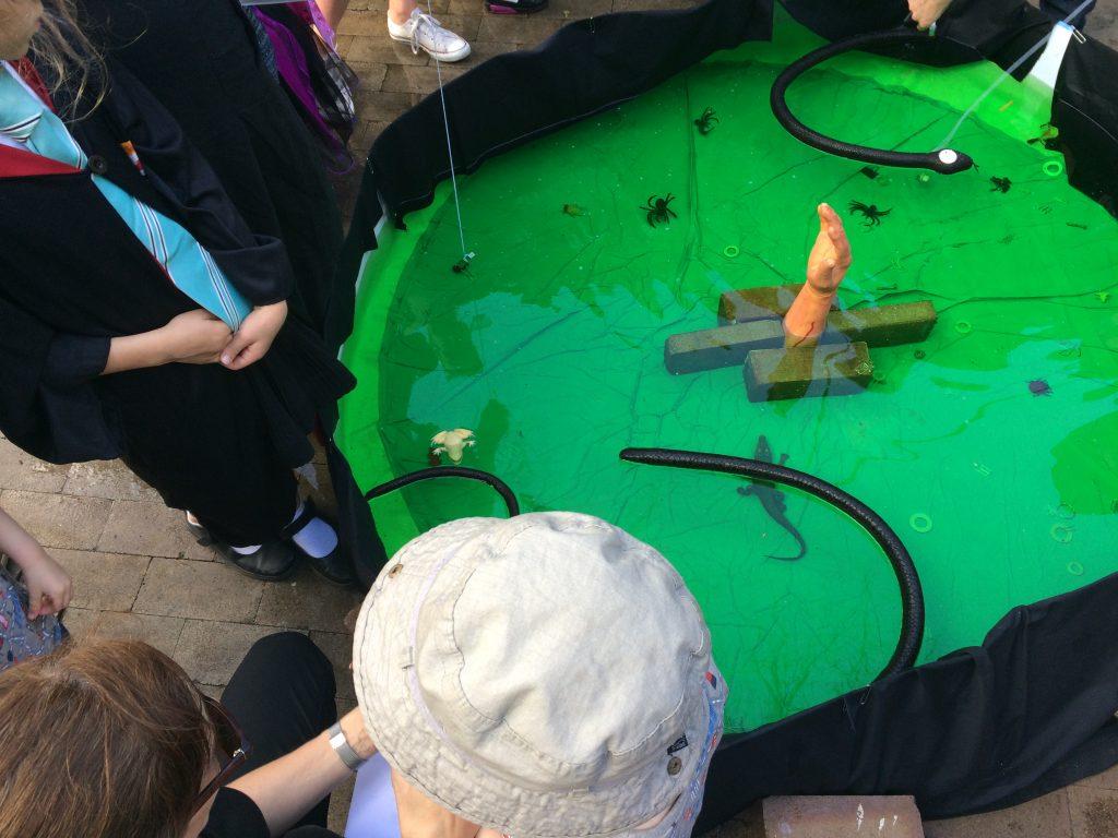 Slime fishing