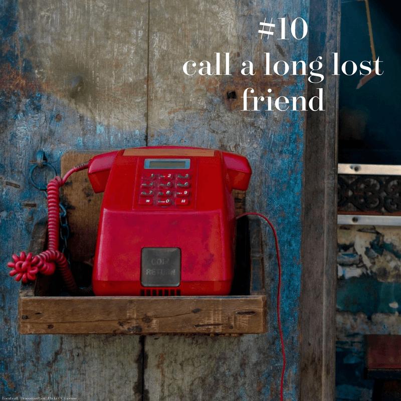 A local call, in the pre-mobile era
