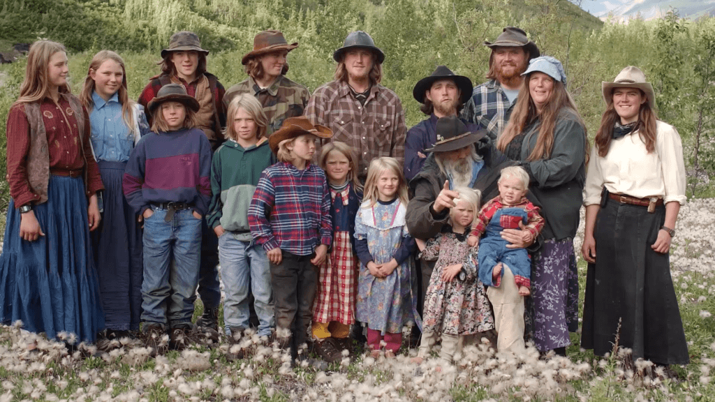 The Hale family in Alaska
