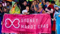 The Sydney gay and lesbian mardi gras