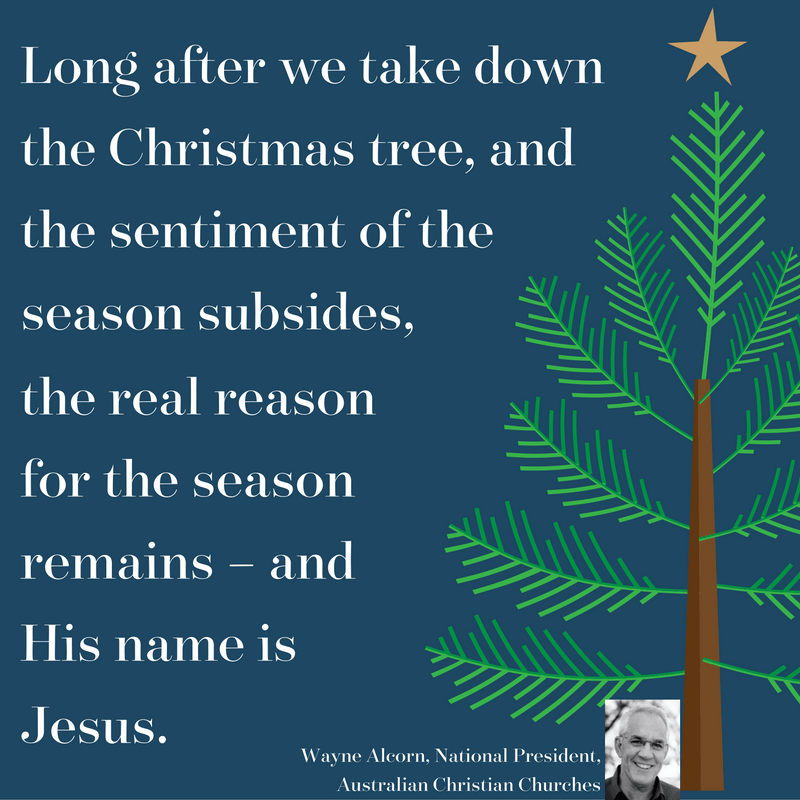 Australian Christian Churches Christmas message