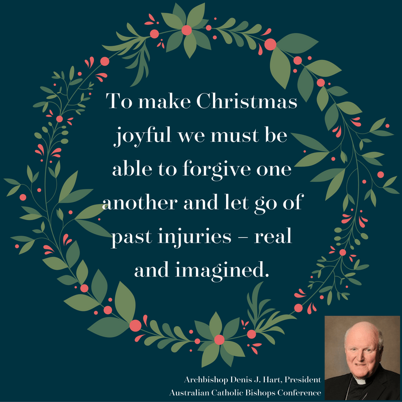 Archbishop Denis Hart on how to find joy this Christmas