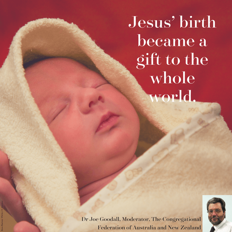 Joe Goodall on the meaning of Jesus' birth