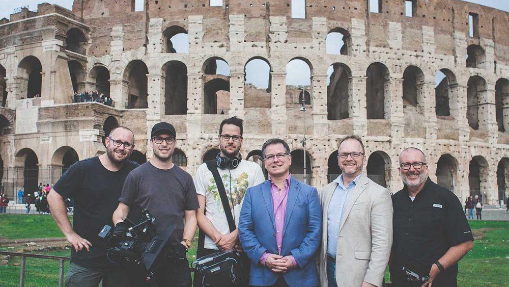 CPX crew in Rome