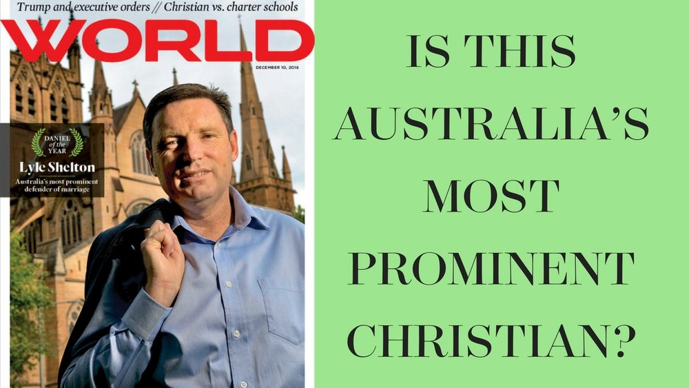Is this Australia's most prominent Christian?
