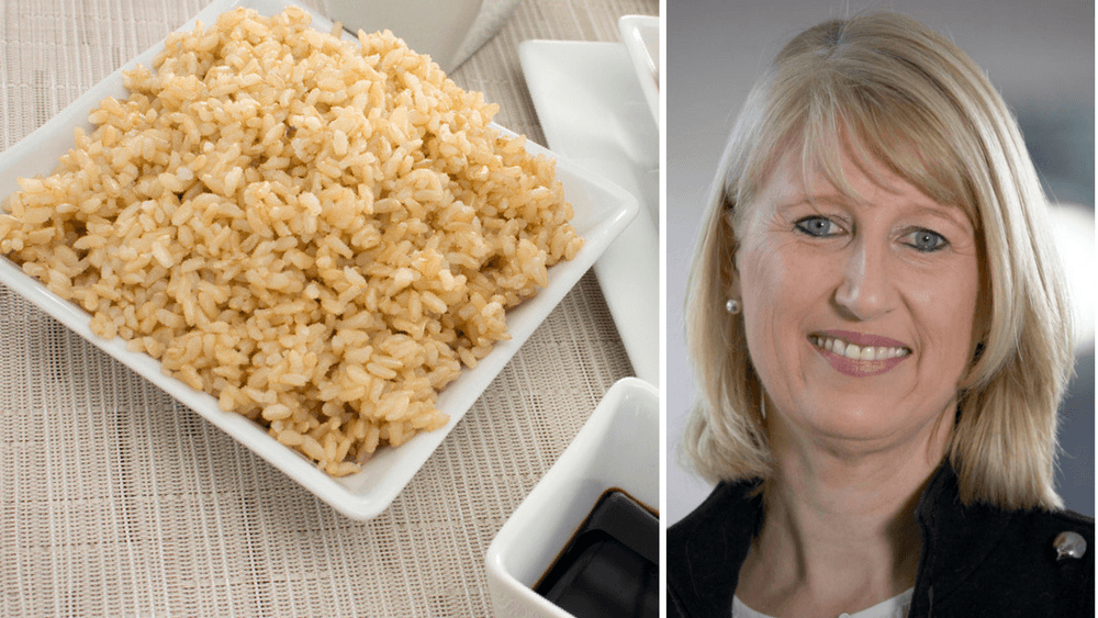 Claire Rogers, CEO of World Vision, grew up eating rice and soy sauce once a week