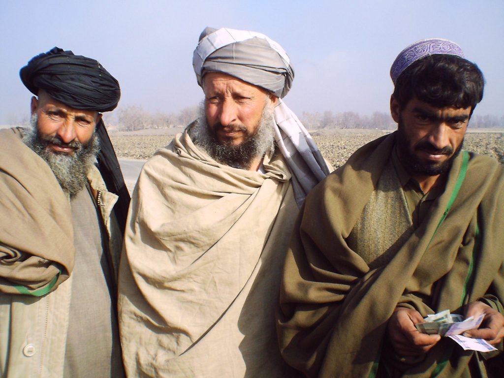 3 Afghan men