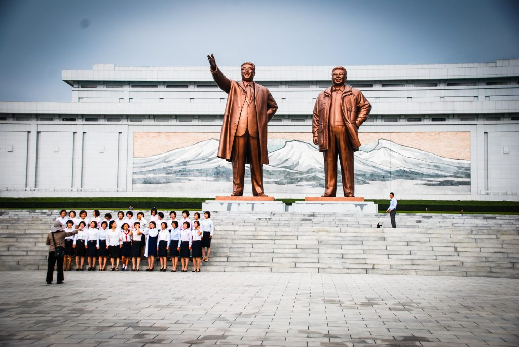 Statues of deceased leaders North Korea
