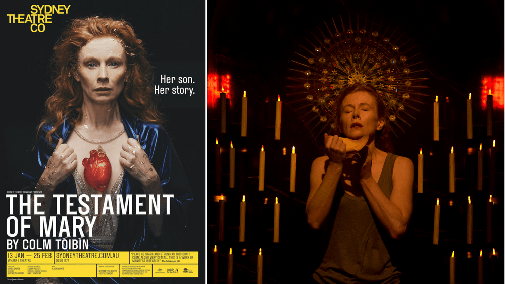 Alison Whyte is haunting in The Testament of Mary.