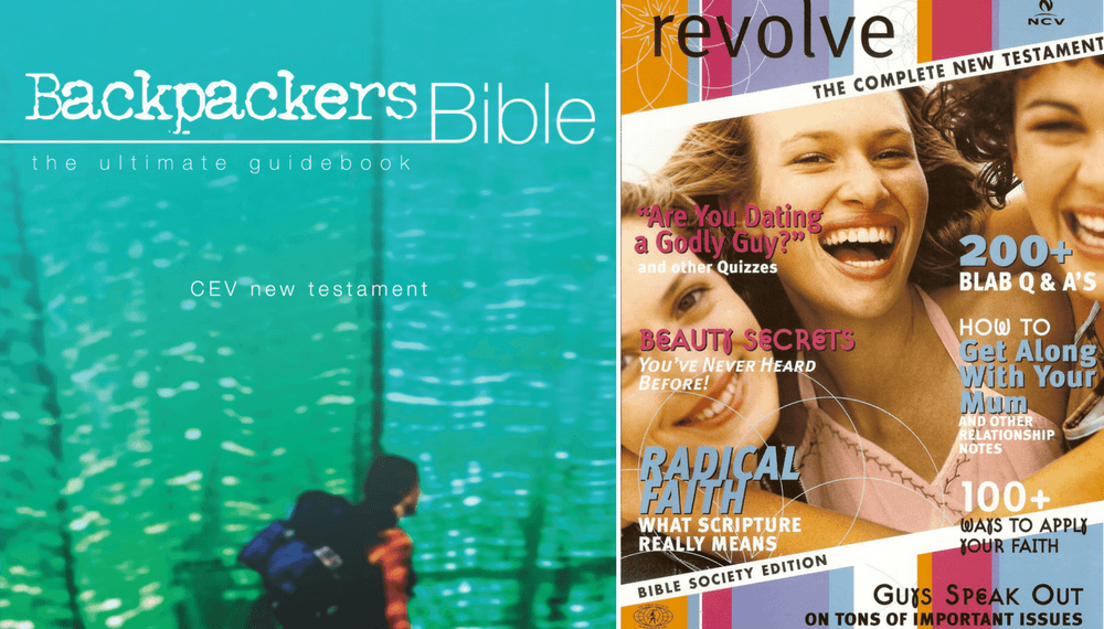 The Backpackers Bible and Resolve for Girls