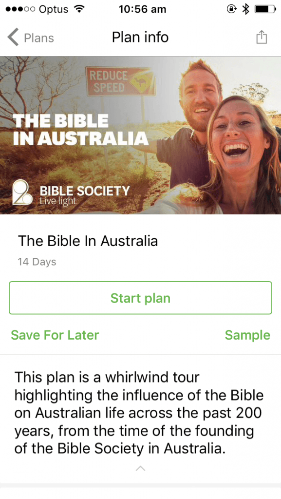 Greg Clarke's devotions are now available on the Bible App