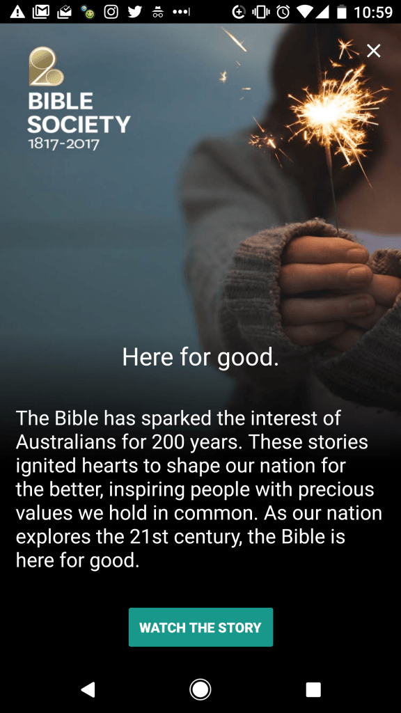 YouVersion will feature Bible Society's bicentenary