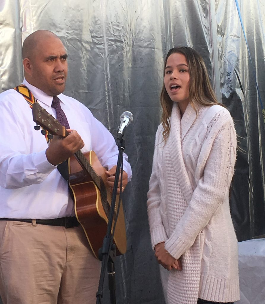 Eugene Pickett and daughter Kaya sing Jesus Is His Name