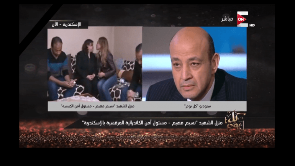 Muslim TV interviewer lost for words as Christian woman forgives suicide bomber who killed her husband