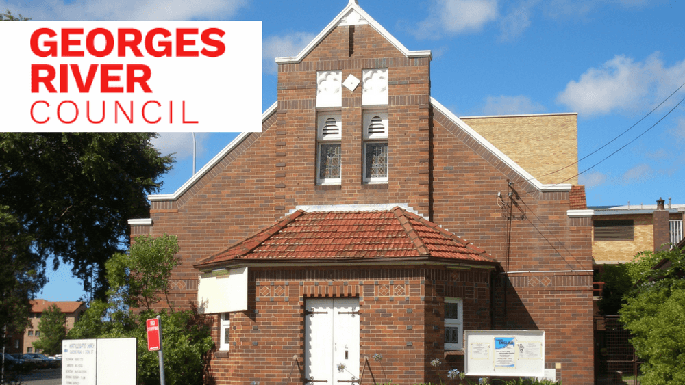 Hurstville Baptist Church has been compulsorily acquired by Georges River Council