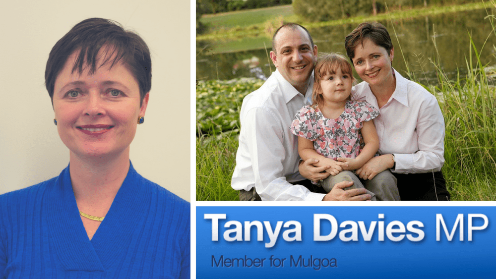 NSW Minister for Women Tanya Davies draws on the Bible when things get tough