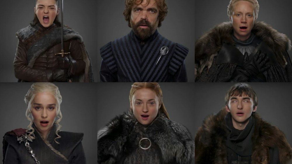 Game of Thrones cast in their season 7 outfits