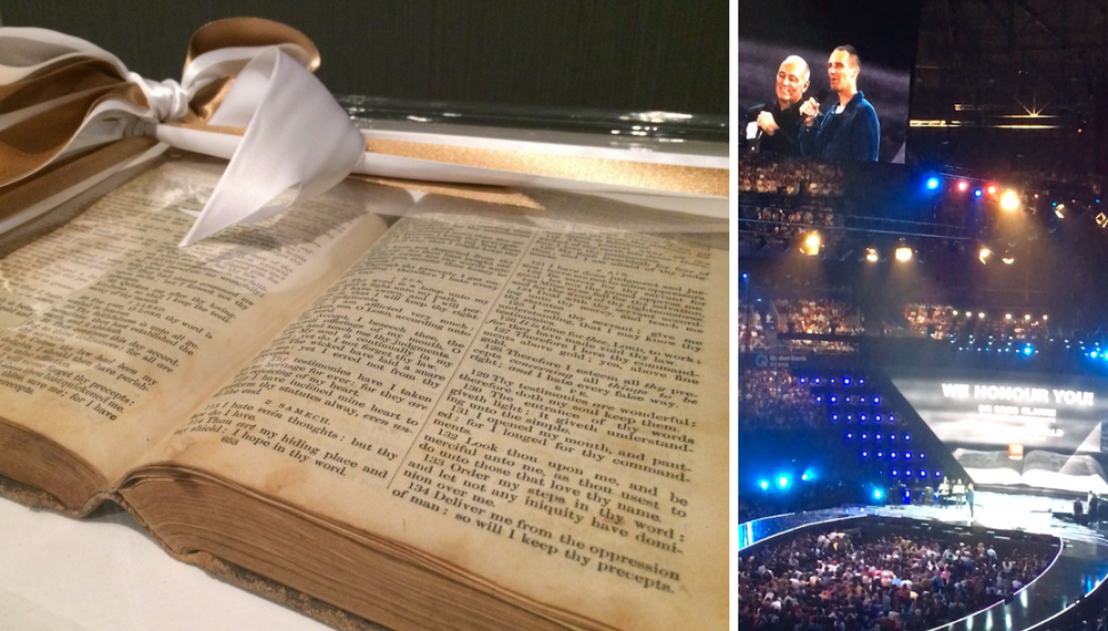 Bible Society Australia was honoured at Hillsong Conference