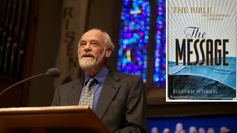 Eugene Peterson has clarified his views on marriage