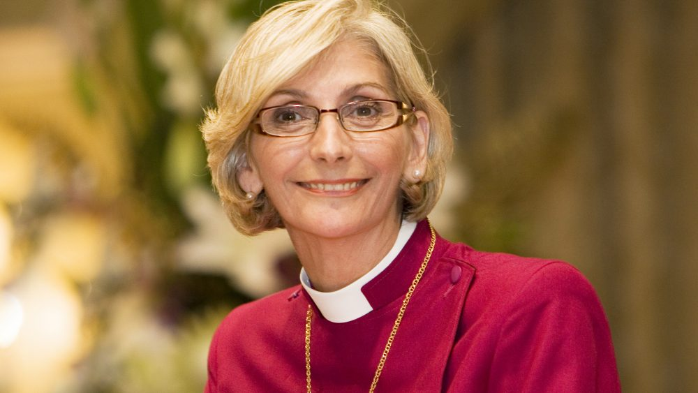 Archbishop-elect Kay Goldsworthy