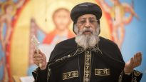 Pope Tawadros is in Australia, and says he forgives the persecutors of the Egyptian Coptic Church