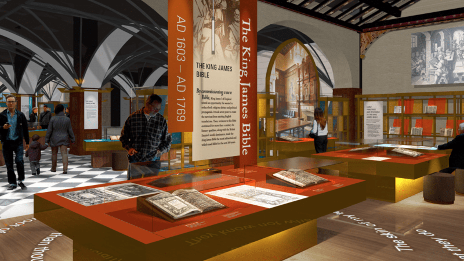 The history of the bible is on display