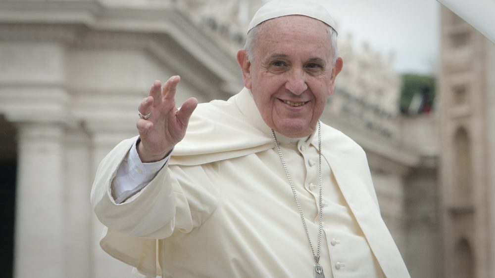 The Pope confessed he often falls asleep while praying