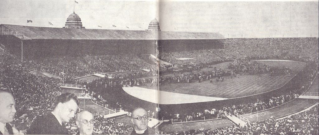 Billy Graham's London Crusade 1954 Wimbledon Stadium