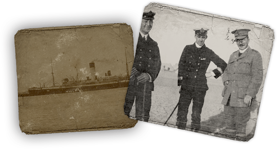 Gillison was the second chaplain allowed to go ashore at Gallipoli