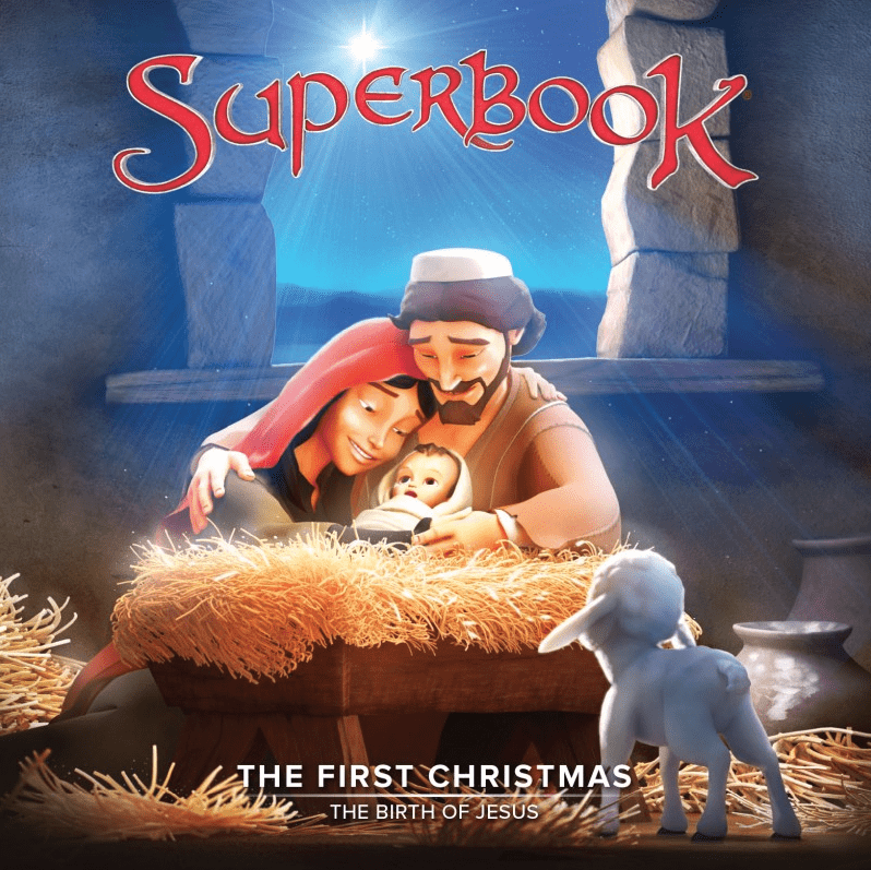 Superbook The First Christmas DVD