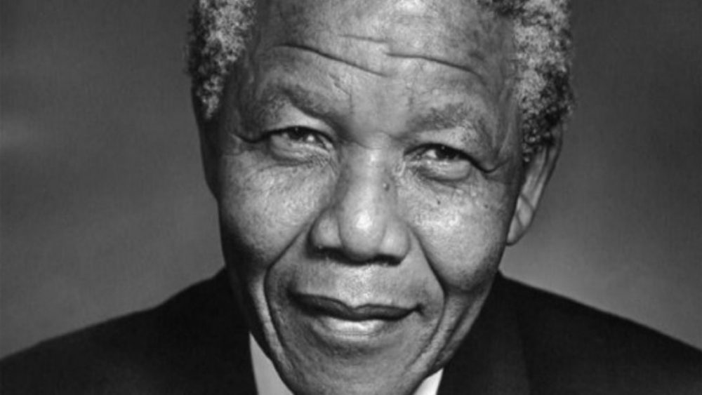 We admire Nelson Mandela because he was a political leader of conviction.
