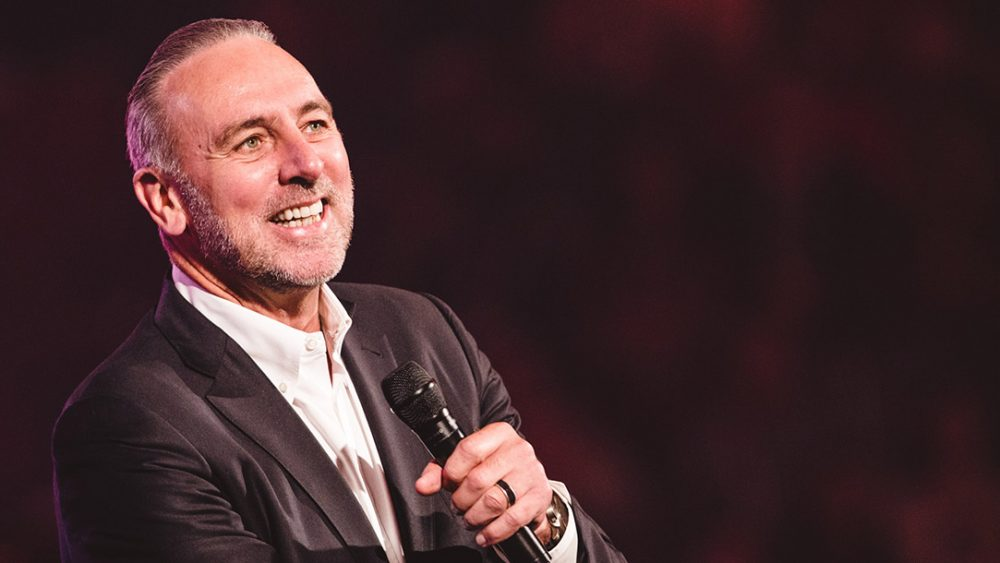 Hillsong's Brian Houston says he has never believed in a prosperity gospel, only a gospel of Jesus.