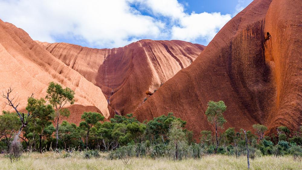 Mutitjulu Gorge, Uluru