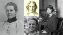 Clockwise from left: Amy Oxley Wilkinson, Harriet Beecher Stowe, Dorothy Day and Corrie Ten Boom